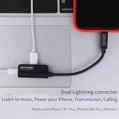 Nillkin Rock Power İphone Şarj Ve Ses Dönüştürücü Kablosu