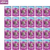 Whiskas Pouch Ton Balıklı Kedi Maması 100g 24lü