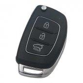 Hyundai 3 Buton Nikel Anahtar Kabı Hyn14