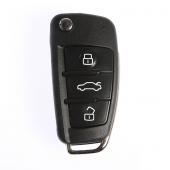 Audi 3 Buton Sustalı Kumanda Kabı (Yeni Tip)