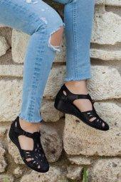 Tarçın Hakiki Deri Comfort Günlük Kadın Sandalet Ayakkabı Trc75 0913