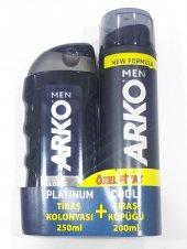 Arko Platinum Tıraş Kolonyası + Cool Tıraş Köpüğü
