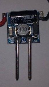 1 3*1watt 350ma 12 V 24v İnput Led Sürücü