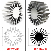 LSD Dairesel Spot Soğutucular LSD-90 / 3cm