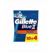 Gillette Blue2 Plus Kullan At Tıraş Bıçağı 14lü