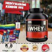 Optimum Gold Standard Whey Protein Tozu 2273 Gr...