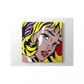Roy Lichtenstein Girl With Hair Ribbon Ekotablo
