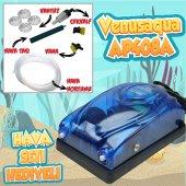 Akvaryum Hava Motoru Seti (Hava Motoru+sünger Filtre+15 Cm Hava Seti)
