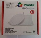 Günışığı - Yuvarlak Led Panel Işık 20 Watt Slim Downlight-3