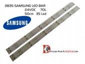 2835 Samsung 24volt 50cm 35 Led Günışığı 3000k Led Bar