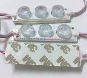 3 Watt 3lü Lensli 3030 Modül 12 Volt Yeşil