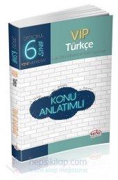 Editör 6. Sınıf Vıp Türkçe Konu Anlatımlı