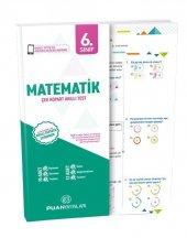 Puan 6. Sınıf Matematik Çek Kopart Yaprak Test