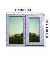80x100 Isıcamlı Pvc Pencere