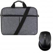 Classone Bnd304 Notebook Çantası + Kablosuz Mouse (Hediye)