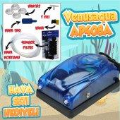 Akvaryum Hava Seti ( Venusaqua ap408a Hava Motoru + Sünger Filtre + 3m Hortum )