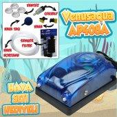 Akvaryum Hava Seti (Hava Motoru Sünger Filtre 3 Cm Hava Seti)