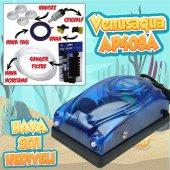 Akvaryum Hava Seti (Hava Motoru+sünger Filtre+7...