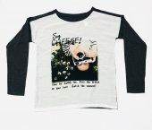 Baskılı Kız Çocuk Sweatshirt Kod K153