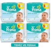 Prima Bebekler İçin Temiz Ve Ferah Islak Havlu (12*64) 768 Yaprak