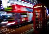 055 Londra Sokak Gece