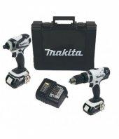 Makita Dtd146+dhp453 Akülü Combo Set