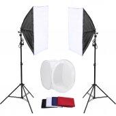 ürün Çekim Çadırı Professional Kit 80x80 Çadır Mini Stüdyo