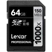 Lexar 64GB 1000x SDXC Hafıza Kartı