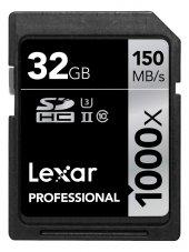 Lexar 32gb 1000x Professional Sdhc Hafıza Kartı...