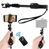 Yunteng Yt 1288 Uzun Ayarlanabilir Bluetooth Selfie Çubuğu