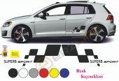 Erzline Skoda Superb Yan Sport Oto Sticker Sağ Sol 2 Adet