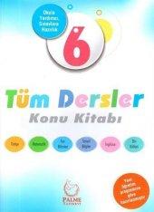Palme Yayınları 6.sınıf Tüm Dersler Konu Kitabı