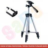 Canon 135cm Profesyonel Tripod 1300d 800d 200d 700d 5d 6d 7d 80d