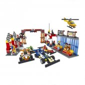Lego Bricks 799 Parça Yarış Seti