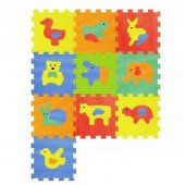 10 Parça Hayvan Eva Puzzle Mat
