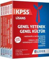 Lider Yayınları 2020 Kpss Gy Gk Lisans Konu Anlatımlı Set