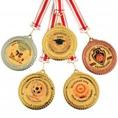 Dijital Baskılı Madalya Derece Başarı Tören Madalyaları