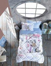 Cotton Box Junior Tek Kişilik Uyku Seti Skate Mavi