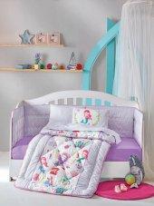 Cotton Box Ranforce Bebek Uyku Seti Deniz Kızı Lila