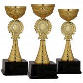 Başarı Derece Kupası K2 Metal Kupa Set 34 Cm Baskılı