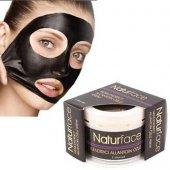 Natur Face Soyulabilir Siyah Kavanoz Maske 100 Ml