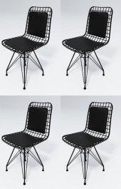 Knsz Kafes Tel Sandalyesi 4 Lü Mazlum Syhsyh...