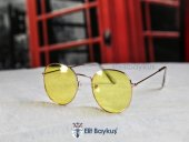 Trent Beyaz Çerçeve- Sarı Gözlük-3