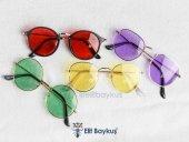 Trent Beyaz Çerçeve- Sarı Gözlük-4