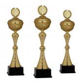 Başarı Derece Kupası K130 Metal Kupa Set 50 Cm Baskılı