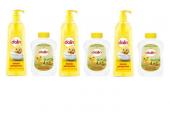 Dalin Bebek Şampuanı 750 Ml 3 Adet + 3 Adet Bebek Yağı Hediyeli