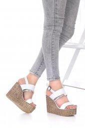 Marcella Dolgu Topuklu Ayakkabı-5