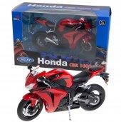 Welly Honda Cbr1000rr Model Metal Motosiklet