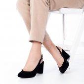 Aury Topuklu Ayakkabı Süet-3