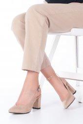 Aury Topuklu Ayakkabı Süet-5